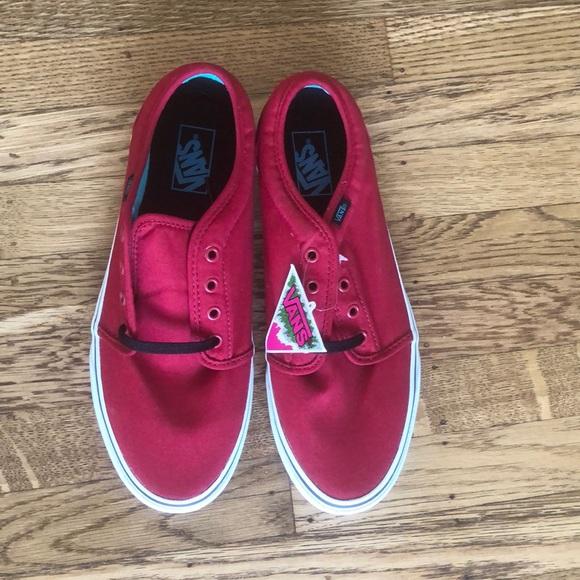 Men's Vans 106 Vulcanized shoes in red
